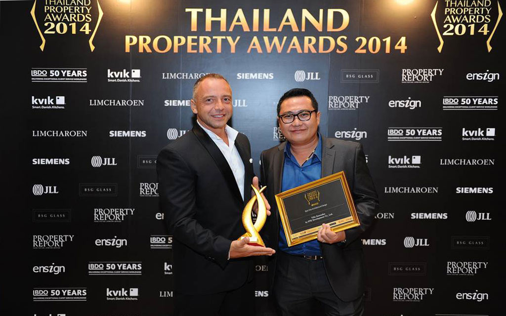 Winner Thailand Property award 2014