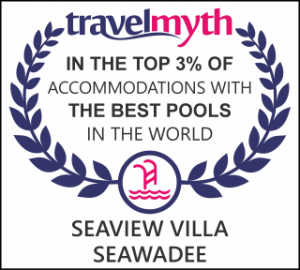 Top3% of accomodations with the best pools in the world